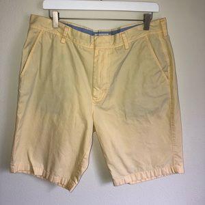J. Crew Men's Pale Yellow Shorts Size 35